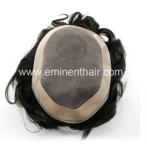 Durable Mono Curly Hair Piece