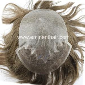 Human Hair Men's Toupee