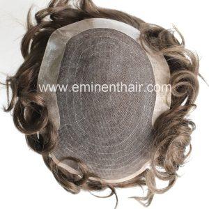 Human Hair Men Toupee
