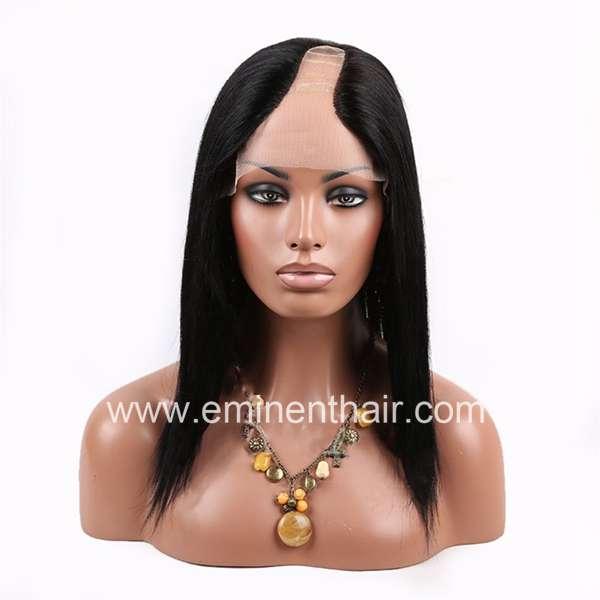 U Shape Remy Hair Wig