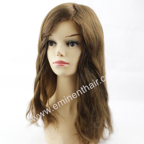 Human Hair Mono Women Hair Replacement