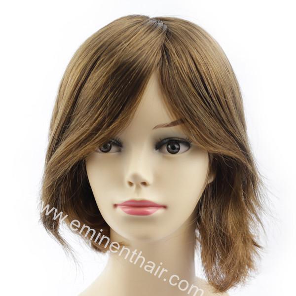 Natural Effect Mongolian Remy Hair Repair Women Wig