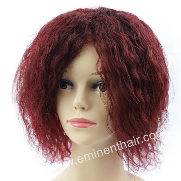 Clear Ribbon Women Hair Prosthesis