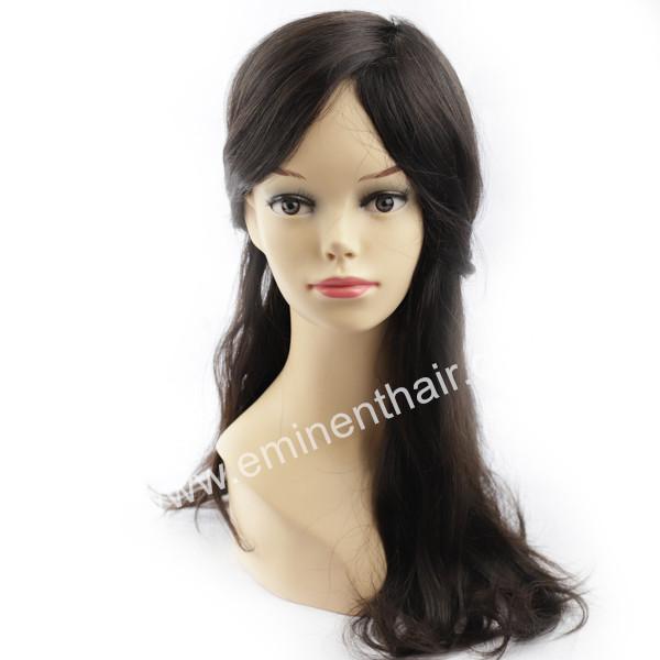 Durable Mono Base Human Hair Women Toupee