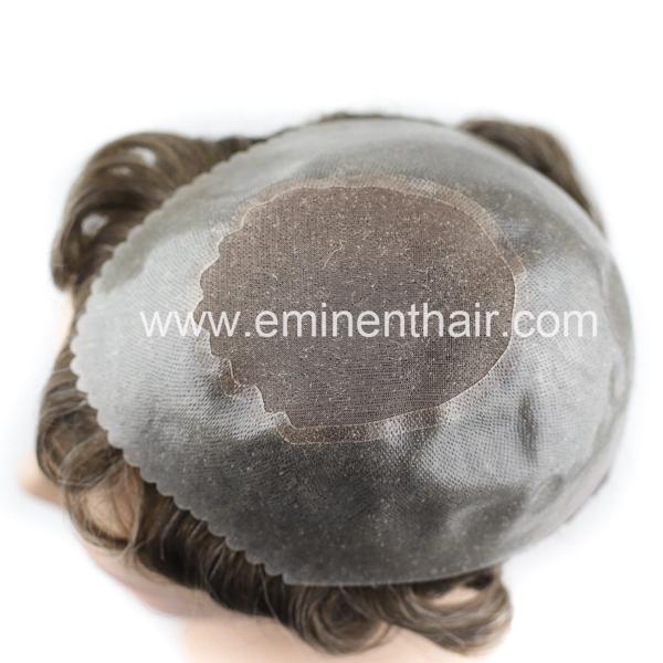Apollo Instant Delivery Human Hair Mono Stock Toupee