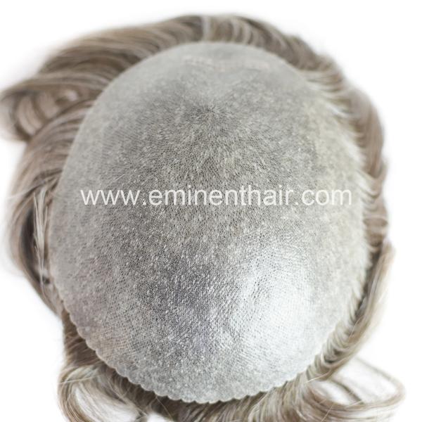 Factory Direct Indian Hair Men's Skin Hair Replacement