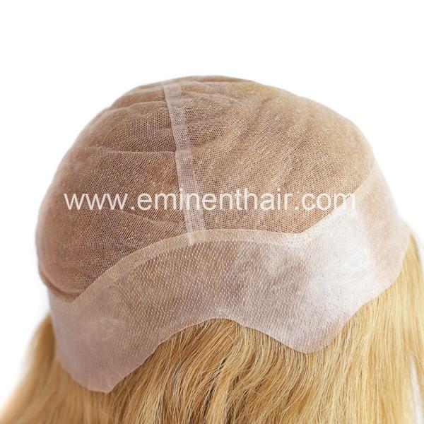 High Quality Custom Made Women Lace European Hair Wig