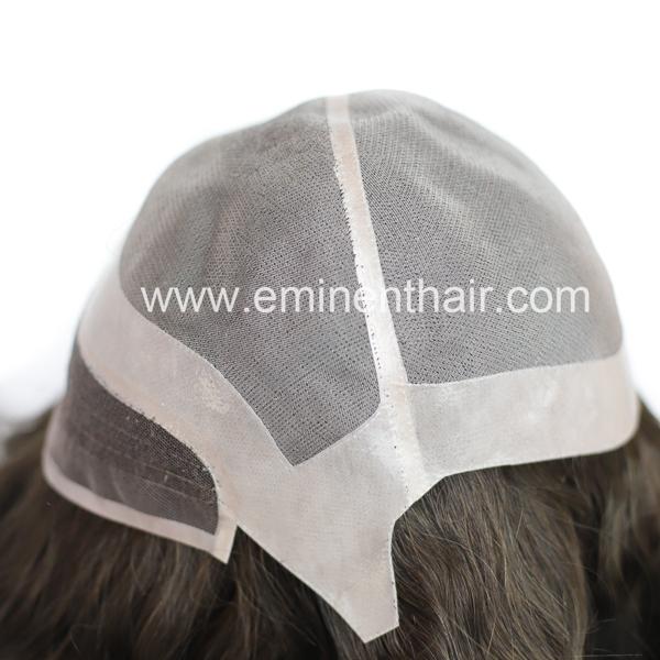 Factory Direct Durable Mono Base Virgin Hair Women Lace Front Wig