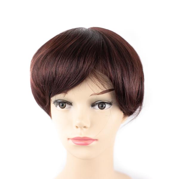Custom Made Virgin Hair Fine Mono Women Hair Replacement