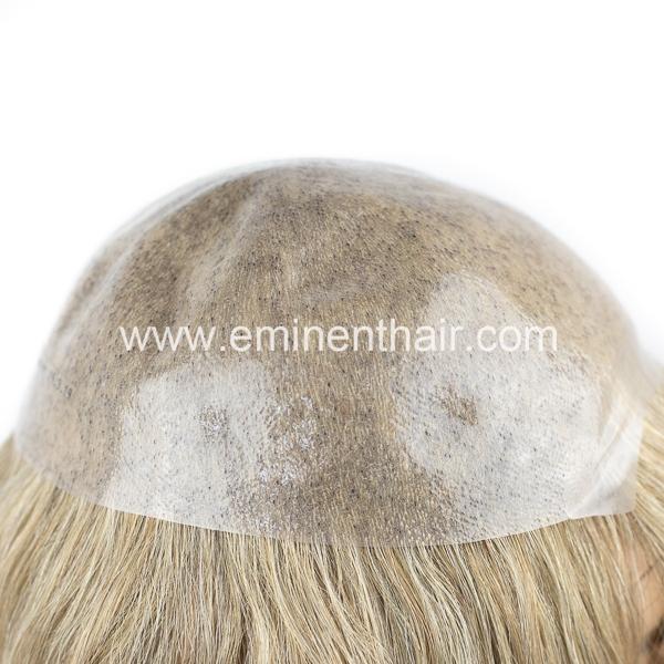 Brazilian Hair Skin Base Women Hair Topper Human Hair