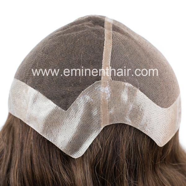 Natural Effect Virgin Hair Women Lace Wig