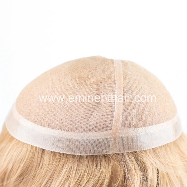 Custom Made Silk Top Women Toupee European Hair