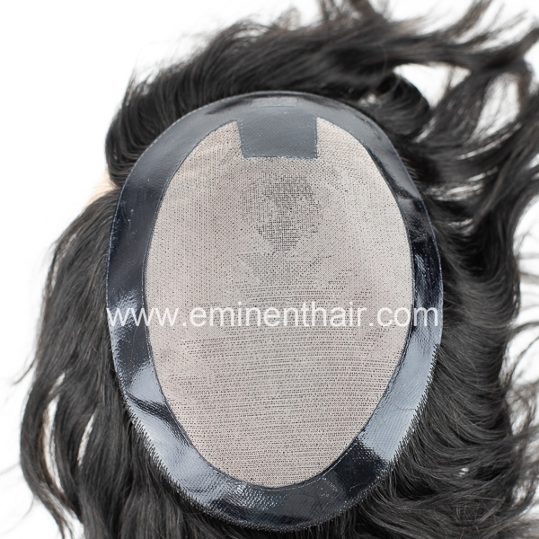 Factory Direct Remy Hair Men Hair Replacement