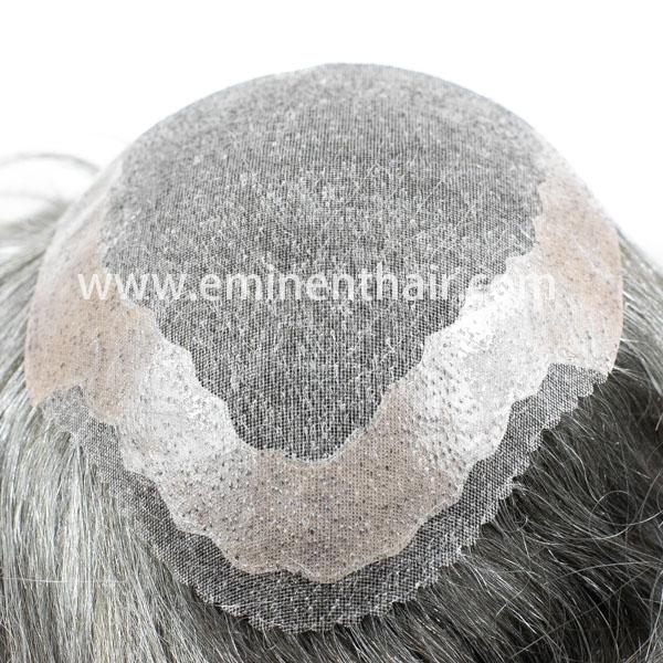 Custom Made Remy Hair Mono Hair Piece For Men