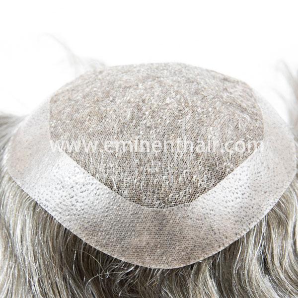 Human Hair Lace Men's Hair Piece