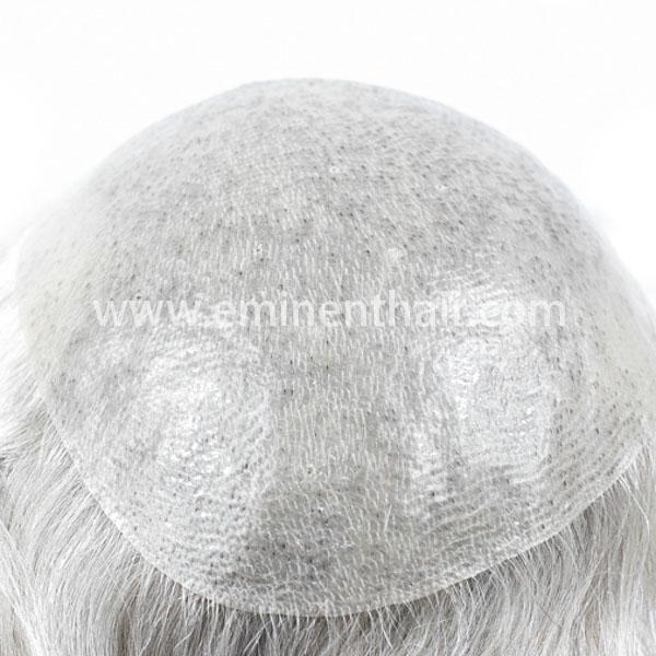 Custom Made Full Skin Men's Human Hair Toupee