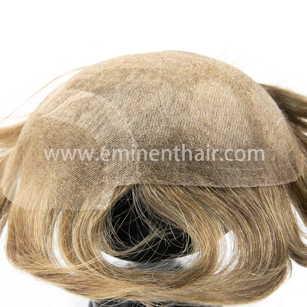 Natural Hairline Men's Lace Front Toupee