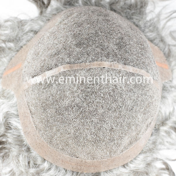 Human Hair Custom Made Men's Lace Wig