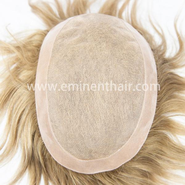 Factory Direct Human Hair Men's Mono Toupee
