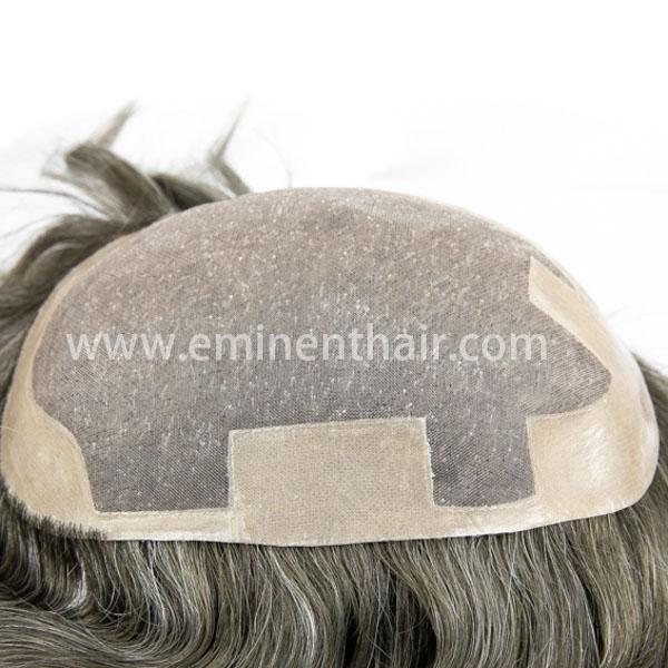 Custom Made Remy Hair Men's Mono Toupee
