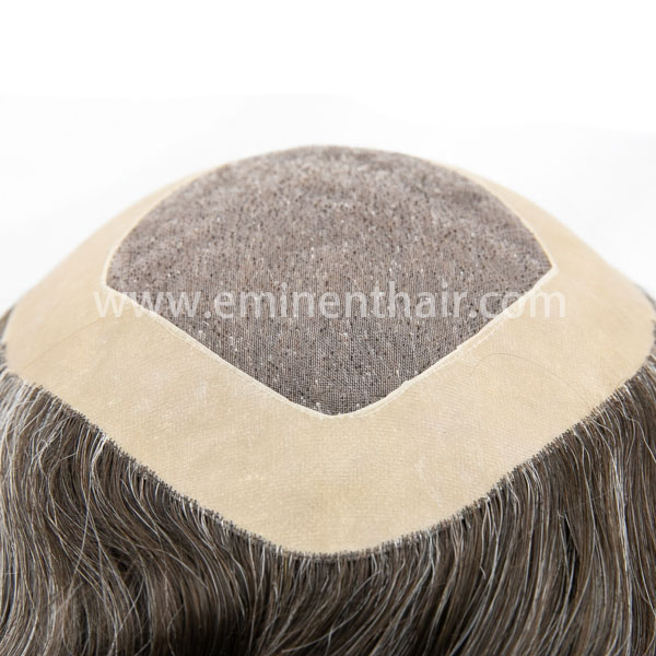 Human Hair Natural Effect Mono Toupee