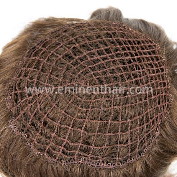 Human Hair Integration Women′s Hair Prosthesis