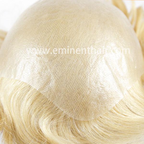 Custom Made Full Skin Remy Hair Women's Hair Replacement