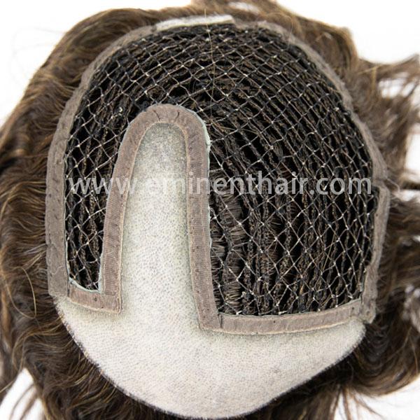 Custom Made Human Hair Women′s Integration Toupee