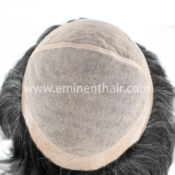 Custom Made Natural Straight Human Hair Women's Lace Wig
