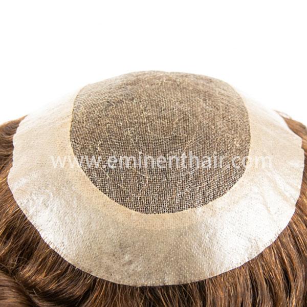 Remy Hair Women's Fine Welded Mono Toupee