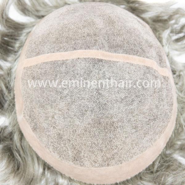 Human Hair  Men's Mono Hair Prosthesis